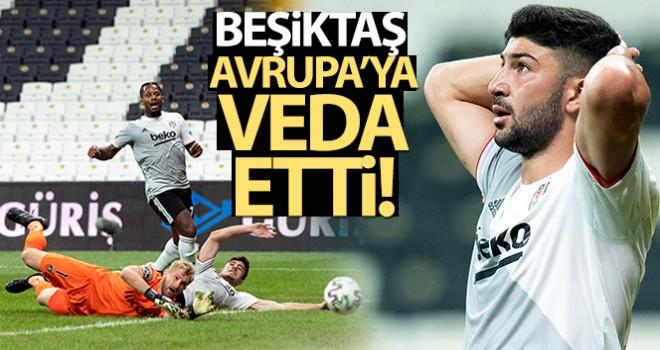Beşiktaş, UEFA Avrupa Ligi'ne veda etti