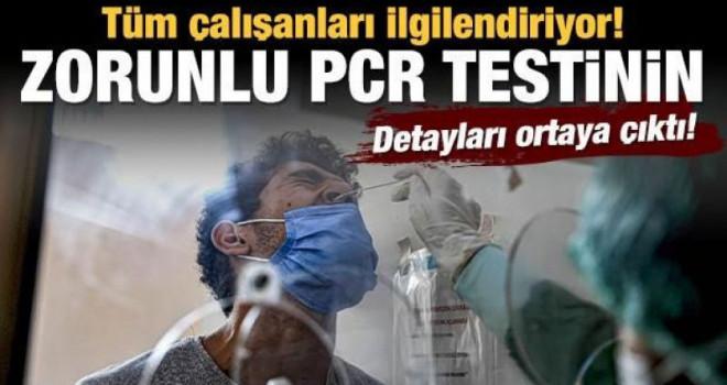 Tüm çalışanları ilgilendiriyor! İşte PCR testi zorunluluğunun detayları...