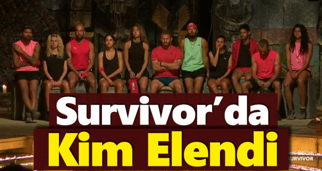 Survivor Bu Hafta Kim Elendi? 1 Nisan 2021