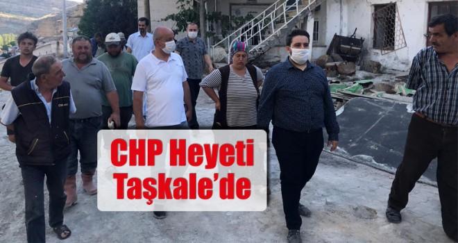 CHP Heyeti Taşkale'de