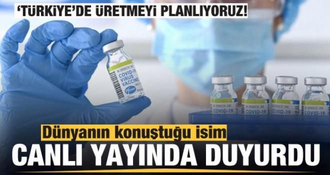 Dünyanın konuştuğu Türk bilim insanı 'Türkiye'de üretmeyi planlıyoruz'