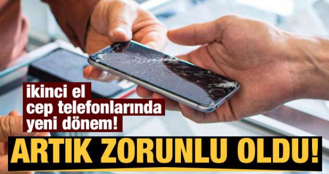 İkinci el cep telefonlarında yeni dönem: Zorunlu oldu