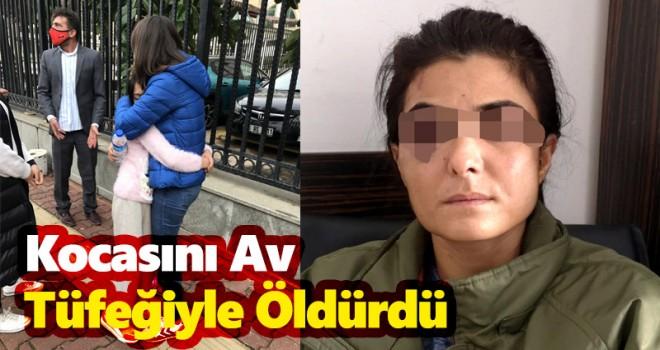 Antalya'da bir kadın kocasını av tüfeğiyle öldürdü