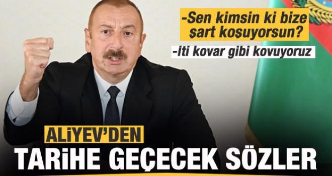 Aliyev'den tarihe geçecek rest!