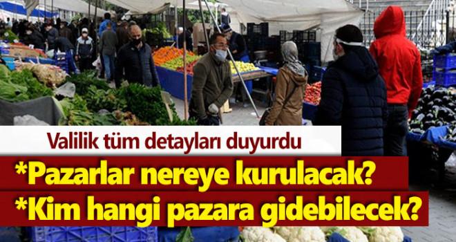 Karaman'da semt pazarları nereye kurulacak