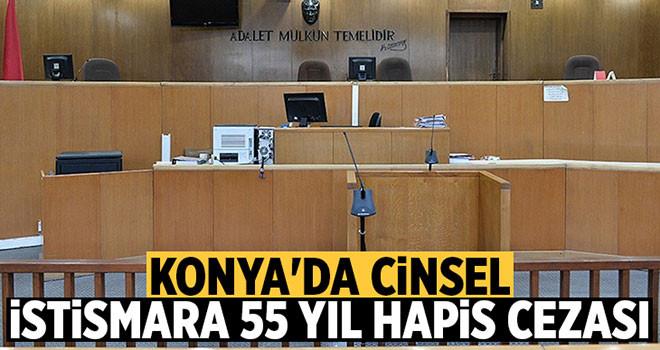 Cinsel istismara 55 yıl hapis cezası