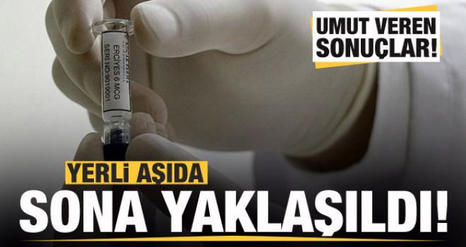 Yerli aşı çalışmasında sona yaklaşıld! Umut veren sonuçlar