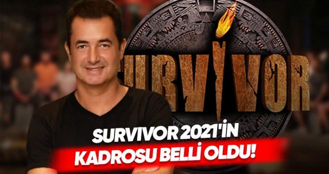 Survivor 2021'in Ünlüler Takımı Belli Oldu