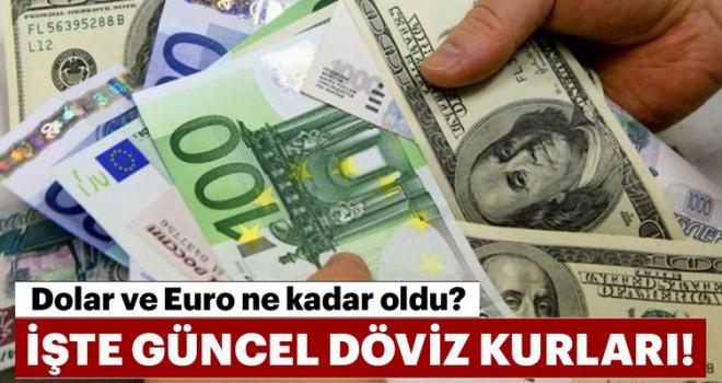 31 Mayıs Dolar, Euro ve Sterlin ne kadar oldu?