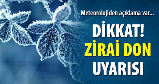 Meteorolojiden Karaman çiftçisine uyarı: Bu 3 geceye dikkat!