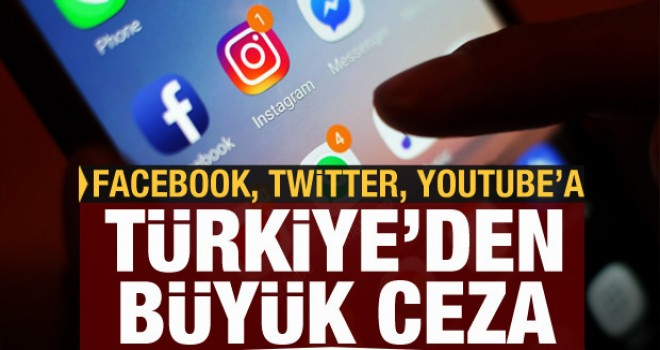 Facebook, Twitter, Youtube'a ceza