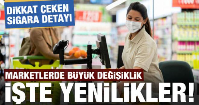 Marketlerde büyük değişiklik! Dikkat çeken sigara detayı...