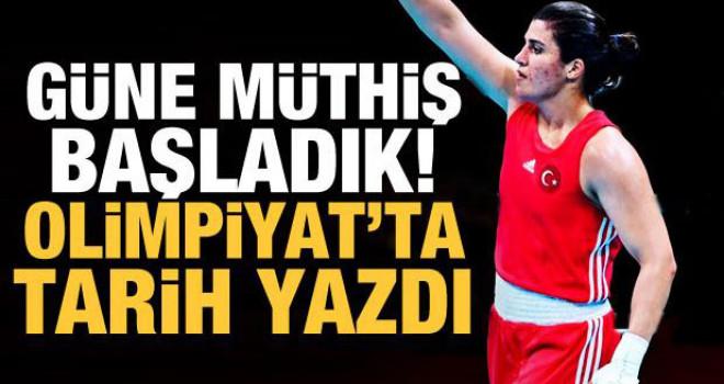 Olimpiyatlarda güne müthiş başladık!