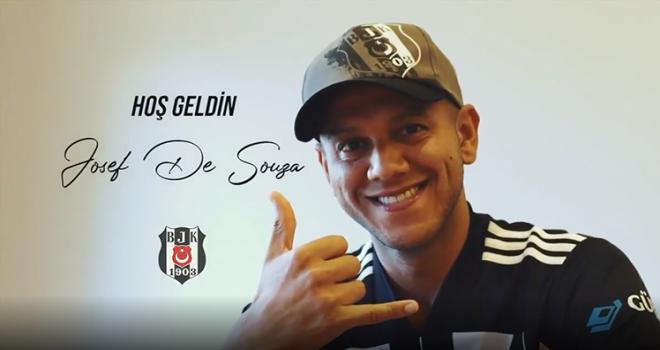 Josef de Souza resmen Beşiktaş'ta!