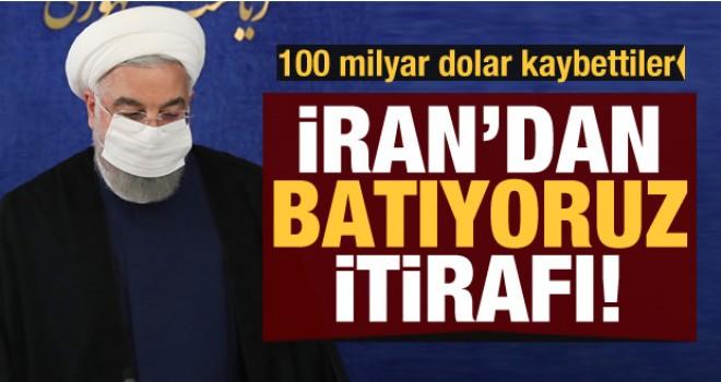 İran şokta! Batıyoruz İtirafı