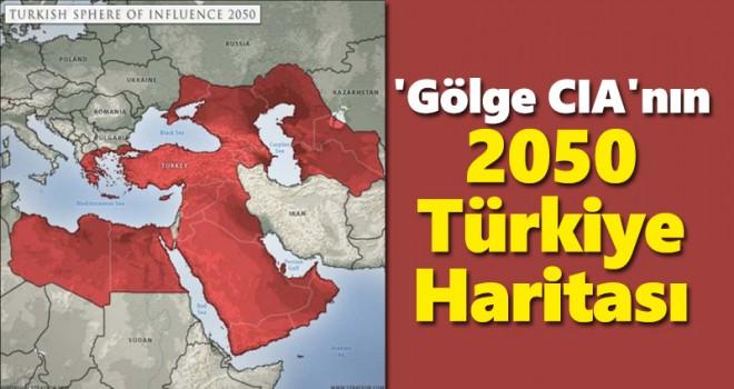 'Gölge CIA'nin 2050 Türkiye haritası gündeme bomba gibi düştü
