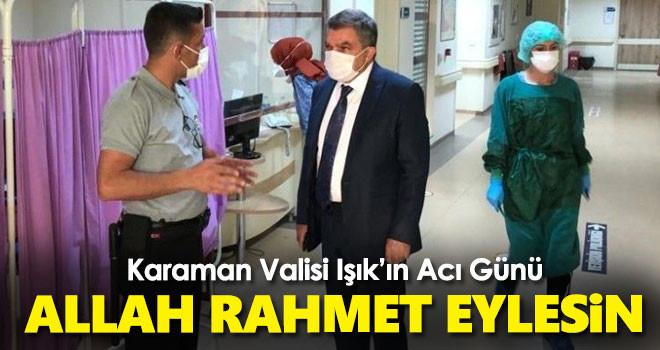 Vali Mehmet Alparslan Işık'ın Acı Günü