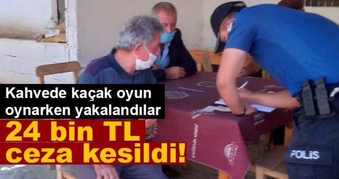 Karaman'da kaçak oyun oynatan kahvehanelere ceza yağdı