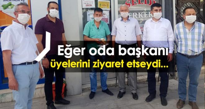 Merkez İlçe Başkanı Tunç'tan Pekoğluna Cevap
