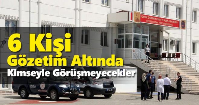 Karaman'da 6 karantina kaçağı KYK yurduna yerleştirildi