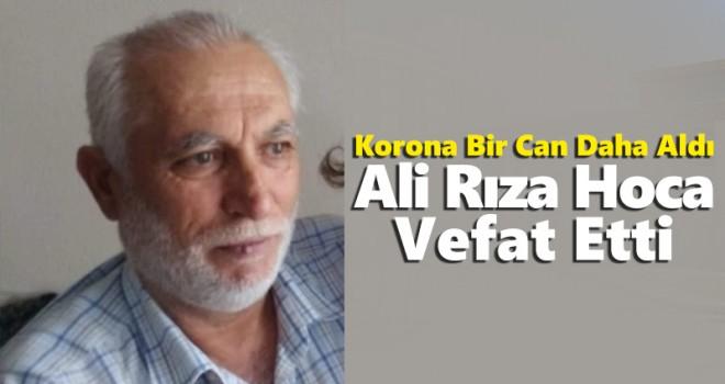Ali Rıza Aydın Koronadan Hayatını Kaybetti