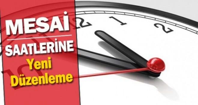 Ankara'da mesai saatlerine yeni düzenleme