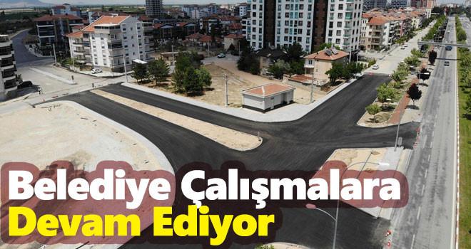 Karaman Belediyesi Çalışmalarına Devam Ediyor