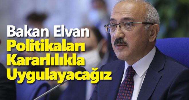 Bakan Elvan'dan yüzde 7'lik büyümeye ilişkin açıklama