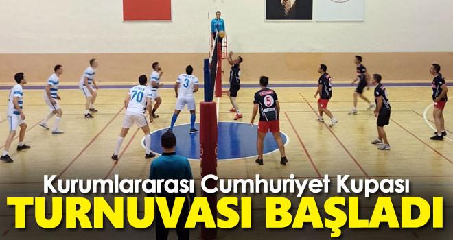 Kurumlararası Cumhuriyet Kupası Turnuvası başladı