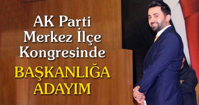 Mehmet Sami Şahin Adaylığını Açıkladı