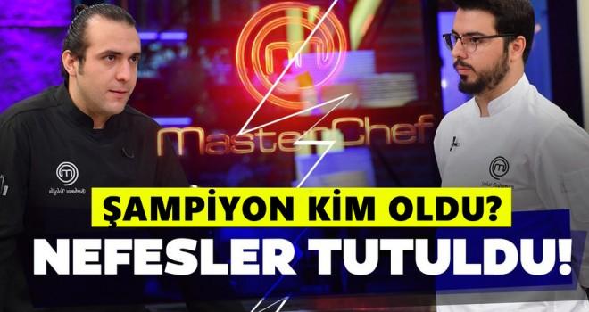 MasterChef 2020 Türkiye'de Kim Kazandı? Barbaros mu? Serhat mı?