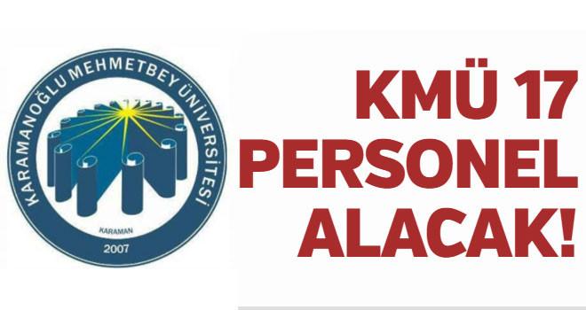 KMÜ 17 Sözleşmeli Sağlık Personeli alıyor