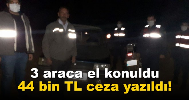 Karaman'da kaçak avcılara 43 bin 701 lira ceza uygulandı