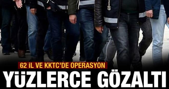 FETÖ'nün TSK yapılanmasında 532 gözaltı