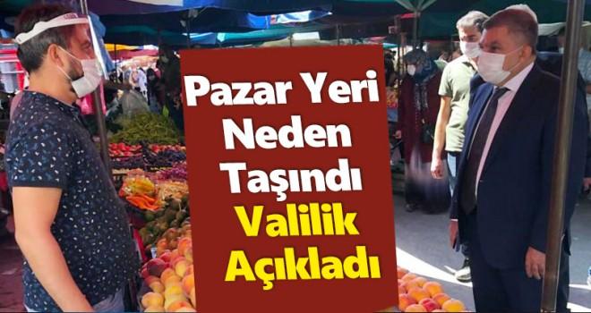 Karaman Valiliği, pazar yeri kararına açıklık getirdi
