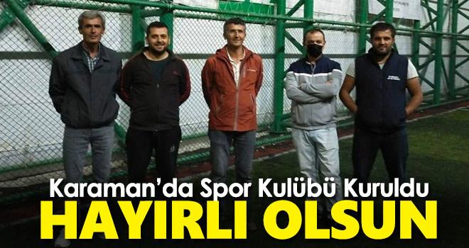 Başyayla Spor Kulübü Futbol Takımı Kuruldu