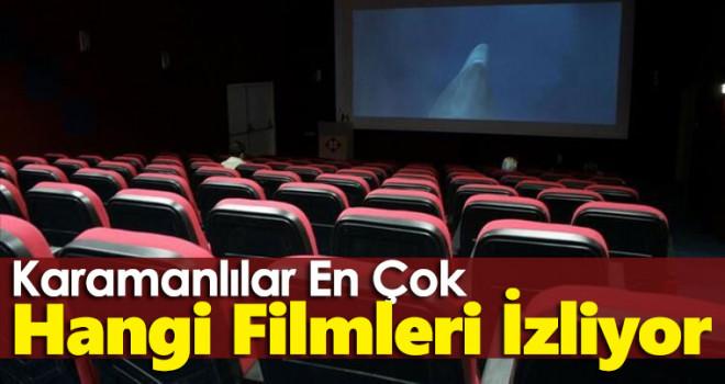 Karaman'da yerli filmler daha çok seviliyor