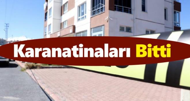 Karaman'da 4 adresin karantina süresi tamamlandı