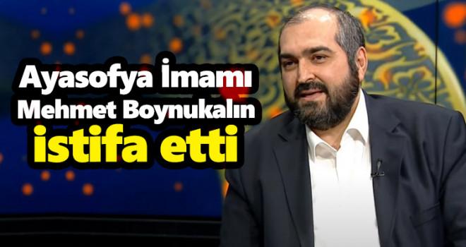 Ayasofya İmamı Mehmet Boynukalın, üniversitedeki görevine geri döndü