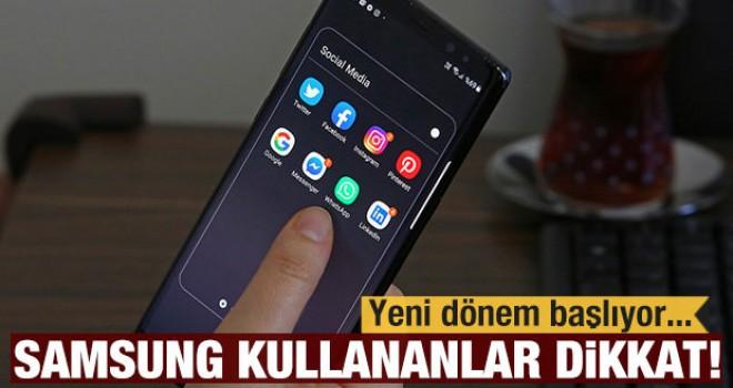 Samsung telefon kullananlar dikkat! Uyarı geldi