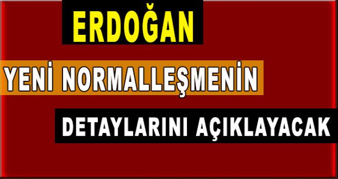 Erdoğan yeni normalleşmenin detaylarını açıklayacak