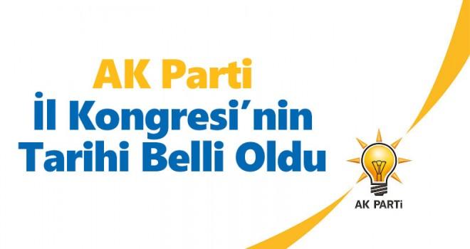 Karaman'da AK Parti İl Kongresi'nin Tarihi Belli Oldu