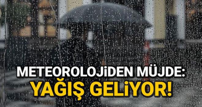 Karaman'a yağmur müjdesi!