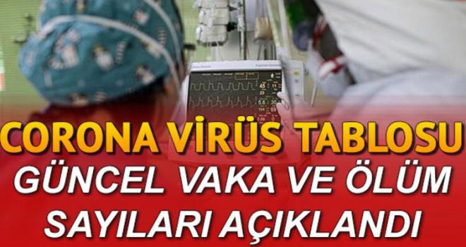 1 Mayıs koronavirüs tablosu! Vakalarda Düşüş Devam Ediyor