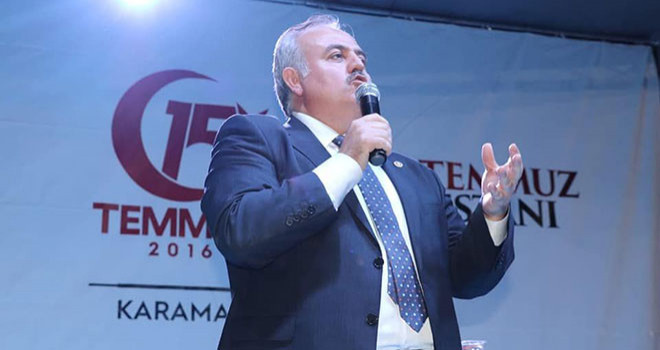 Milletvekili Şeker'den '15 Temmuz Demokrasi ve Milli Birlik Günü' mesajı