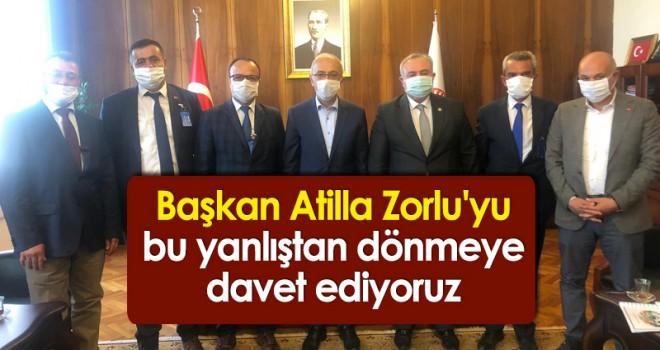 AK Parti Ermenek İlçe Başkanı Mevlüt SARITAŞ'ın Basın Açıklaması