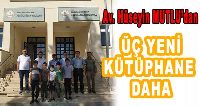 """""""Karaman'da kütüphanesiz köy okulu kalmayacak"""""""