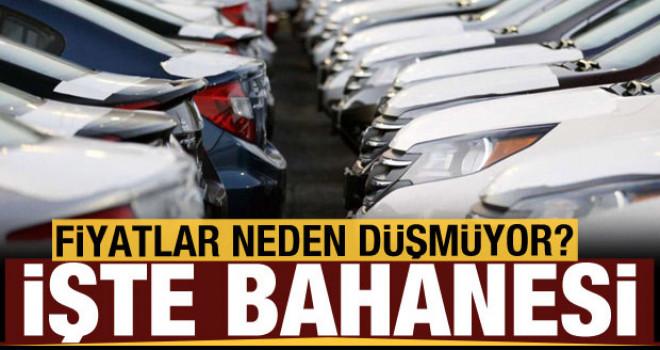 Dolar kuru düşüyor otomobil fiyatları neden düşmüyor? İşte bahanesi