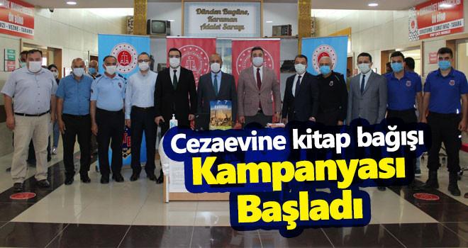 Karaman'da 'Cezaevine kitap bağışı' kampanyası başladı