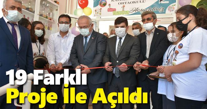 Karaman'da Tübitak Bilim Fuarı açıldı